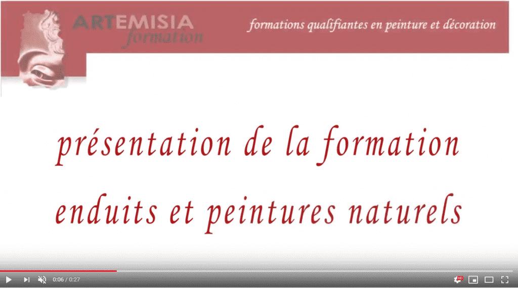 Video - Solene Delahousse - Formation à la chaux aux Ateliers Artemisia - Paris