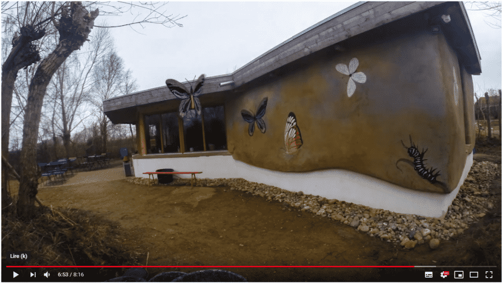 Video - Solene Delahousse Formation en allemagne au centre Européen pour la construction terre