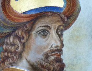 Copie d'une fresque de Gozzoli